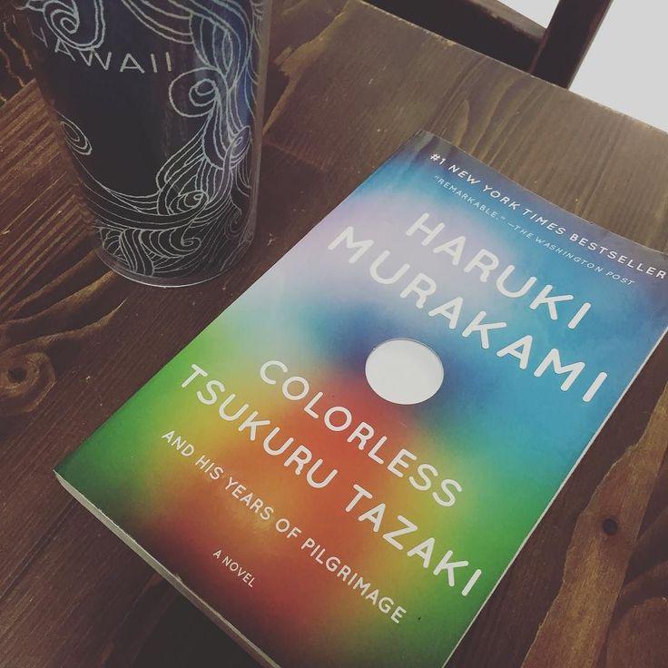 spending my morning with haruki . 春樹と過ごす朝 . #goodmorning #bookstagram #bookworm #harukimurakami #村上春樹 #読書 #おはよう #radiodj #onairpersonality #partymc #mc #hulagirl #selfdiscoveryjourney #sapporo #hokkaido #hawaii #aloha #ハワイ #アロハ #札幌 #北海道 #ラジオdj #パーティーmc #司会者 #マッサージセラピスト #鍼灸師 #通訳 #フラガール #ロコガール
