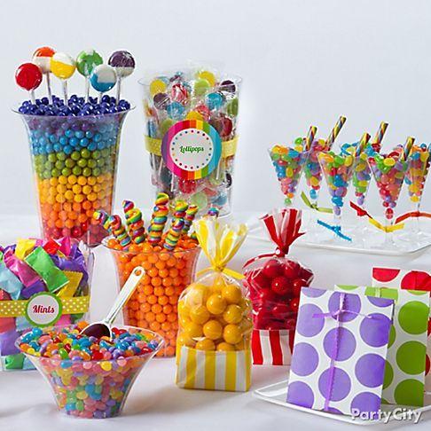 Southern Blue Celebrations: Candy Buffets