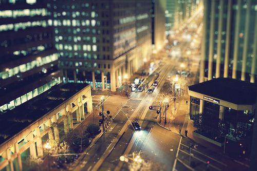 Tilt Shift City Street (Murray Mitchell)