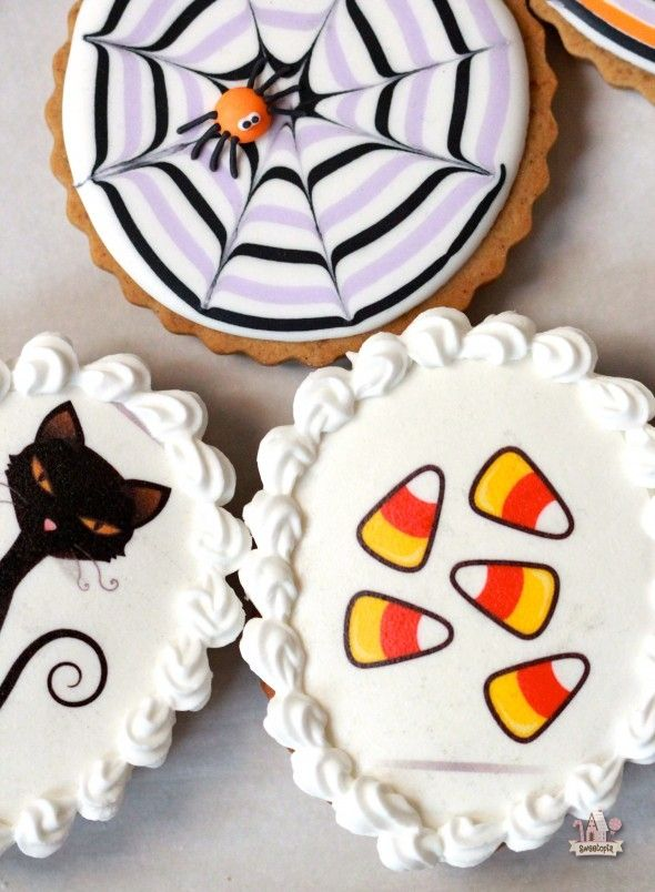 h a l l o w e e n all hallows eve halloween cookie decorating ideas by sweetopia - Halloween Cookies Decorating Ideas