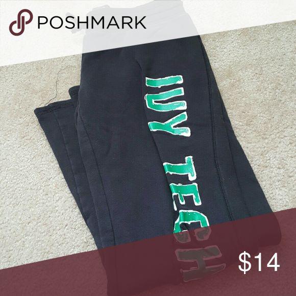 Champion Ivy Tech Pants, Large Sweat pants that read Ivy Tech down the side Champion Pants