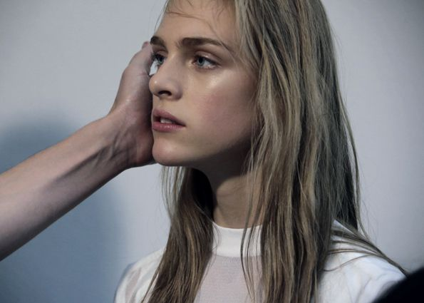 """"""" Backstage at Paco Rabanne S/S 2014 by Anne Combaz """""""