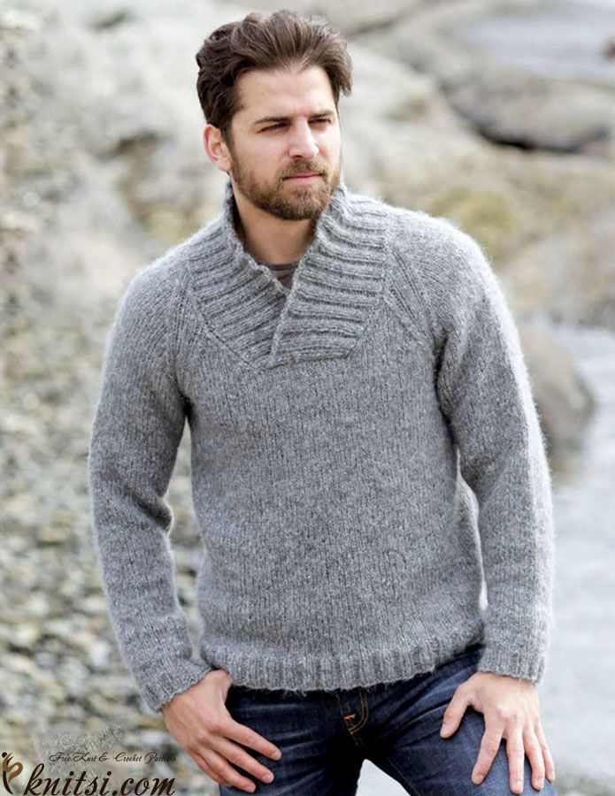 Men's raglan jumper knitting pattern free knitsi.com/pullovers-for-men/332-mens-raglan-jumper-knitting-pattern