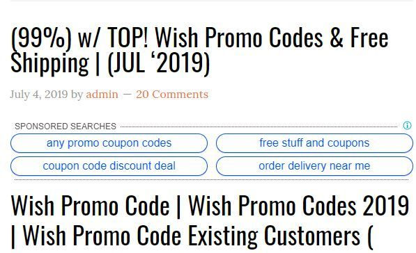 99 Top Wish Promo Codes Promo Codes Coding Promo Coupon