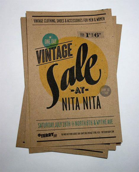 Vintage Sale at Nita Nita: by Ed Nacional