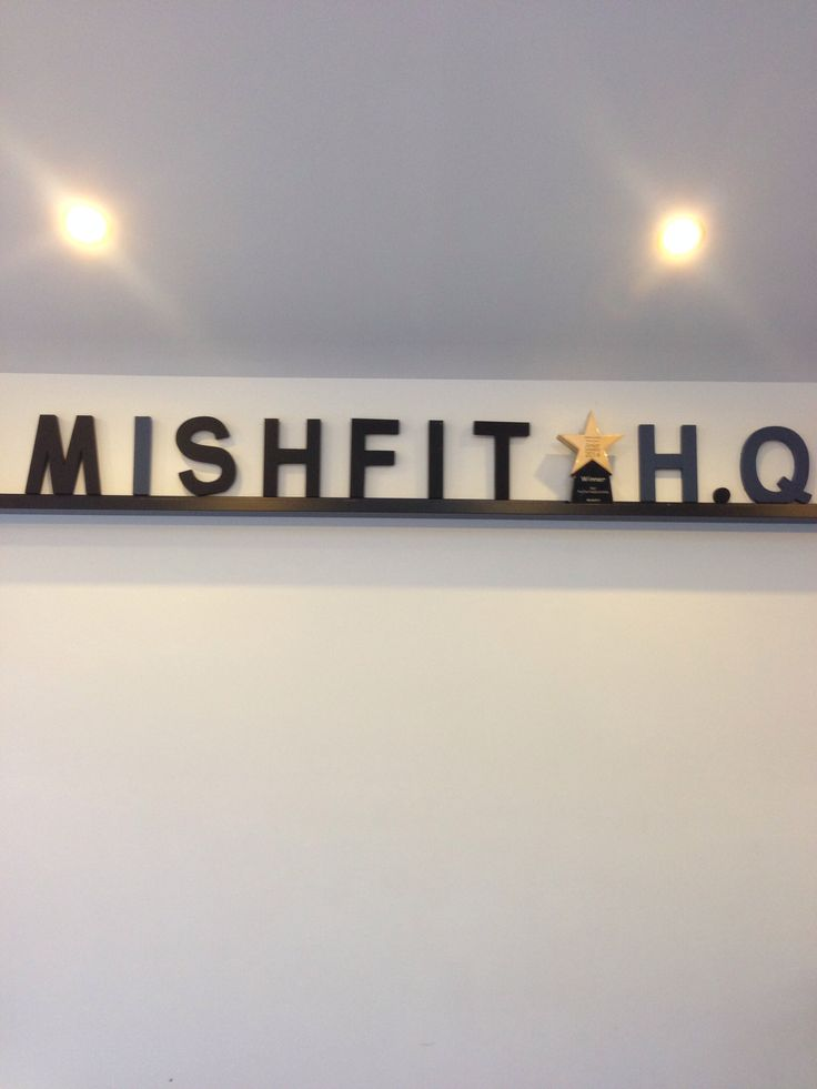 mishfit hq...lovely place to exercise