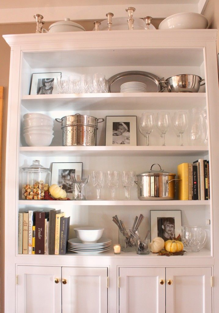 Dining Room Cabinet For Fall Talk Of The House