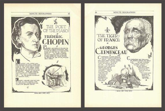 Frédéric Chopin Art Georges Clemenceau History by DigitalArtLand
