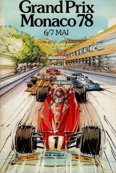 Programme Cover - GP Monaco 1978