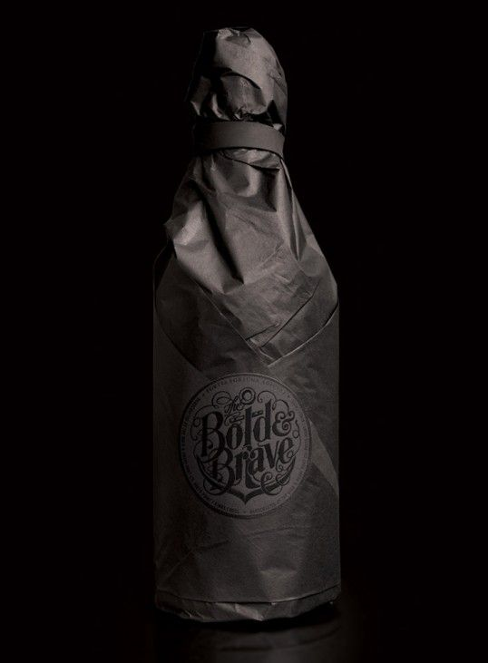 The Bold & Brave Port Co. packaging designed by Boldinc