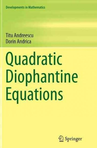 Quadratic Diophantine Equations