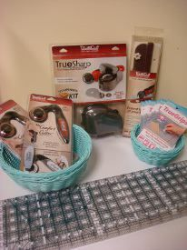 All of the best quilting essentials are in this TrueCut Tools Pack, so enter to win them all!