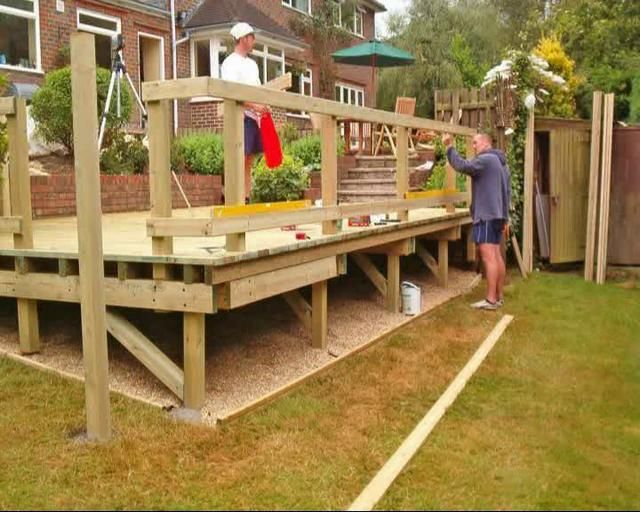 Deck | How To Build A Deck Using Deck Plans | Patio Deck Designs Idea
