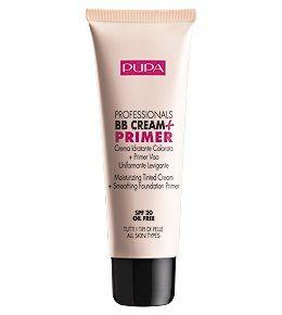 PROFESSIONALS BB CREAM + PRIMER - Увлажняющий крем-тон + Основа под макияж для эффекта гладкой и бархатистой кожи