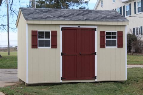 Best S6046 Architectural Shingles Shed High Walls 400 x 300