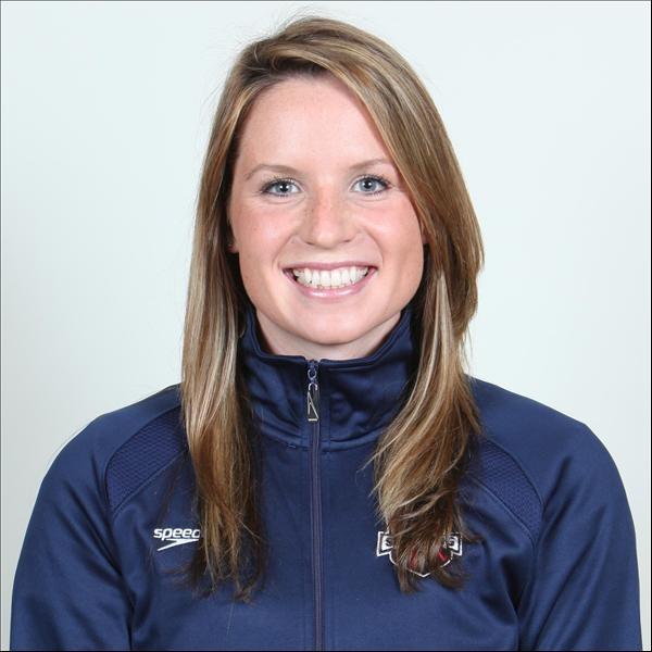 Kara Lynn Joyce, 3 time Olympian and former teammate of Missy Franklin