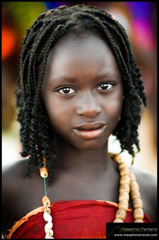 Beautiful Woman Guinea Guinea Bissau 28