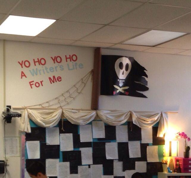 Pirate bulletin board