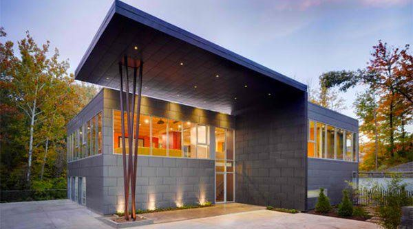 15 Homes With Industrial Exterior Designs Industrial House
