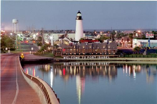Port Isabel, TX.  A little town north of South Padre Island