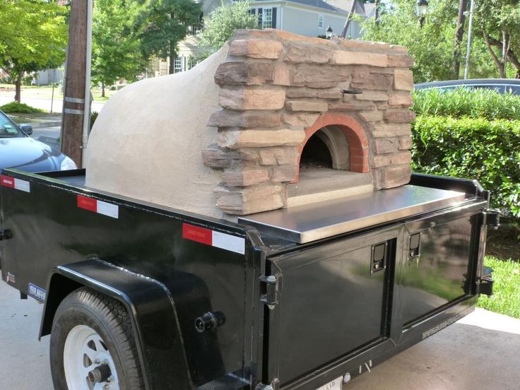 1030 C Wood Fired Pizza Oven  #trailers, #mobileovens, #forrent, #foodtrucks…