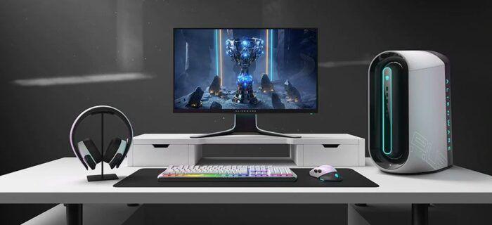 Alienware Aurora R9 Gaming Desktop   WorthPin   Gaming desktop, Alienware,  Gaming room setup