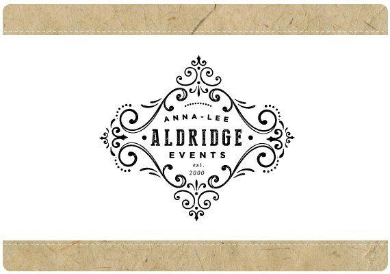 カスタム ロゴ - あらかじめデザインされたロゴ - 既成ロゴ - ベクトルのロゴ - 樹脂ロゴ - アンナ ・ リー ロゴ デザイン - ビンテージ ロゴ - アンティーク ロゴ - ブティック ロゴ