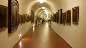 Risultati immagini per autoritratti corridoio vasariano