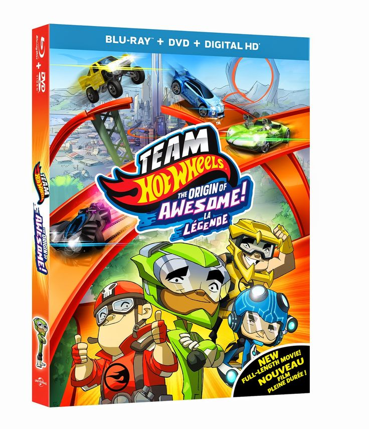 WIN 1 of 5 Team Hot Wheels: Origin of Awesome Movies! CAN/USA - Ends 9/30 ENTER: http://www.snymed.com/2014/09/team-hot-wheels-origin-of-awesome-movie.html