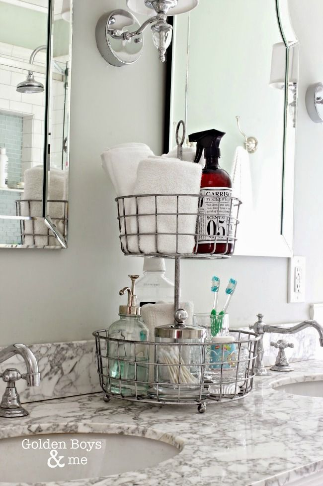 25 best ideas about bathroom organization on pinterest - How to decorate a bathroom counter ...