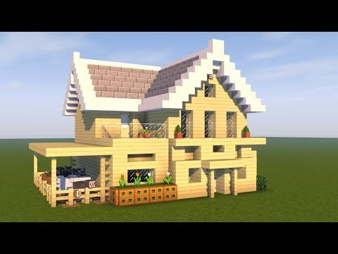 Minecraft Tutorial How To Build A EPIC house | Minecraft Stream