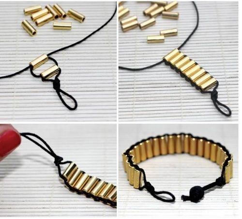 DIY!誰でも作れるかわいい手作りブレスレットレシピ15選♡  MERY [メリー]