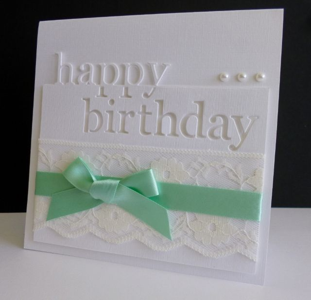 F4A289 ~ Lovely Lace by sistersandie - Cards and Paper Crafts at Splitcoaststampers