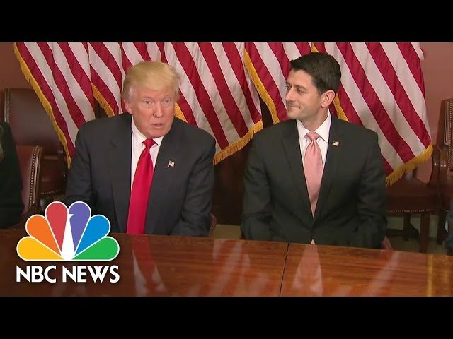 Donald Trump, Mike Pence Meet With Paul Ryan On Capitol Hill | NBC News