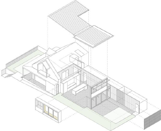 57 best architecture drawings images on pinterest House Extension Plans Australia lilyfield house andrew burns architects architecture drawingssydney australiaarchitects house extension plans australia