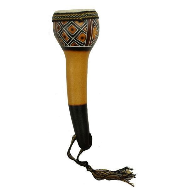 Leather Top Gourd Shaker - Jamtown World Instruments