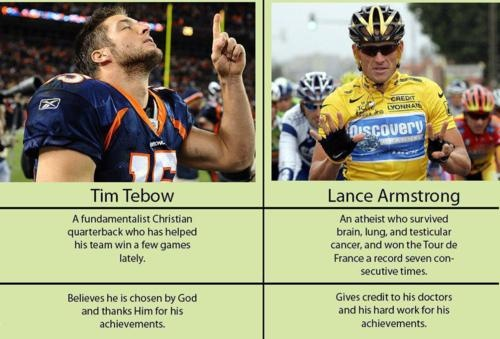 LOL!! ♥ this! Athiest win ♥