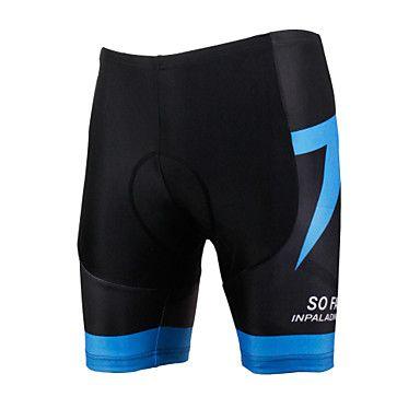ILPALADINO+Cycling+Padded+Shorts+Men's+Unisex+Bike+Shorts+Padded+Shorts/ChamoisBreathable+Quick+Dry+Windproof+Anatomic+Design+Ultraviolet+–+USD+$+19.99