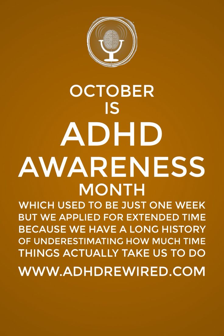 Ironicaly I have ADHD and was born in October