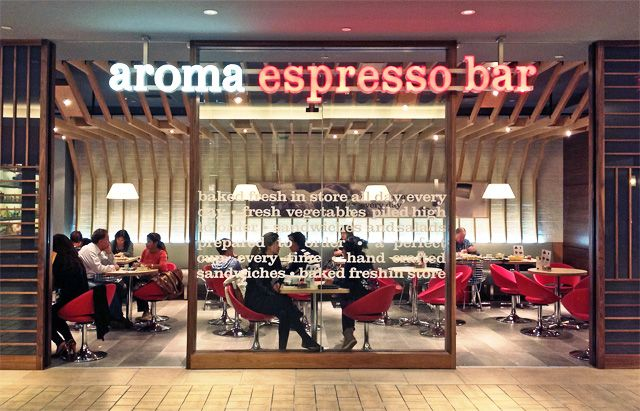 Aroma...Now open at Bayview Village