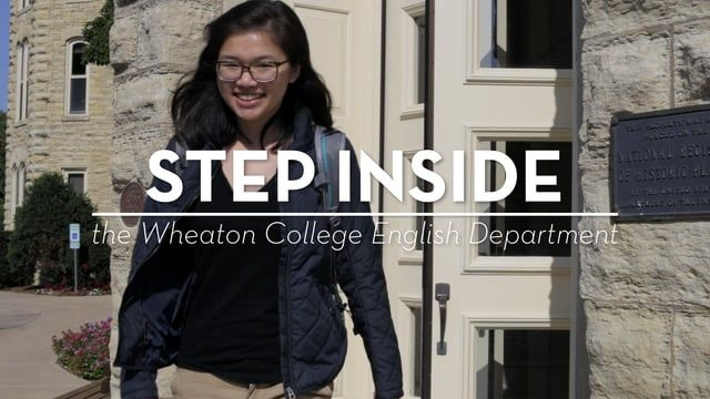Take a step inside the Wheaton College English Department and get a feel for the students, faculty, and staff that make up this campus department!    Connect with Wheaton:  www.wheaton.edu  www.facebook.com/wheatoncollege.il  www.twitter.com/wheatoncollege  www.instagram.com/wheatoncollegeil