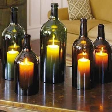 12 Cool Ways to Use Those Empty Wine Bottles