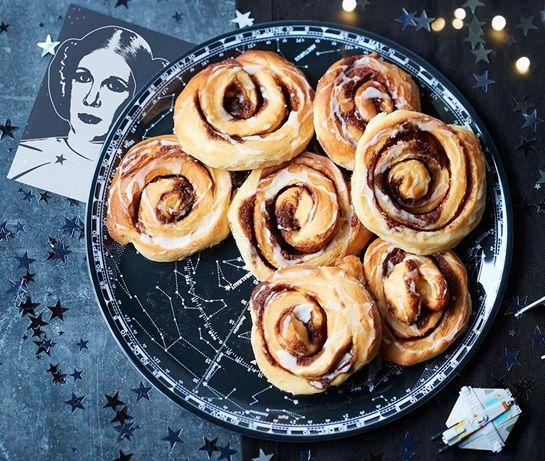 Princess Leia cinnamon buns   ASDA Recipes