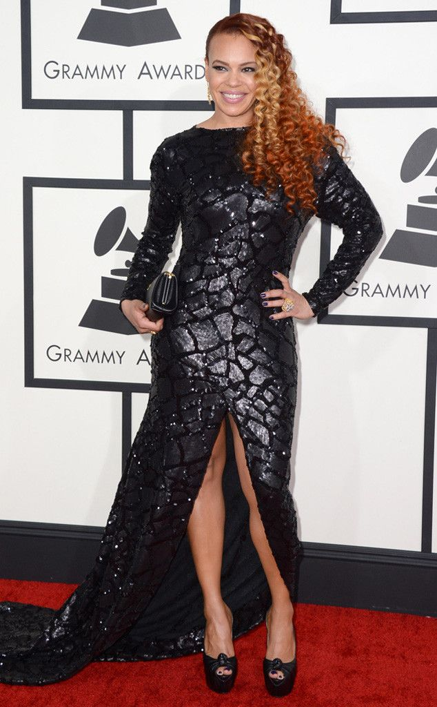 Faith Evans from 2014 Grammys: Red Carpet Arrivals | E! Online