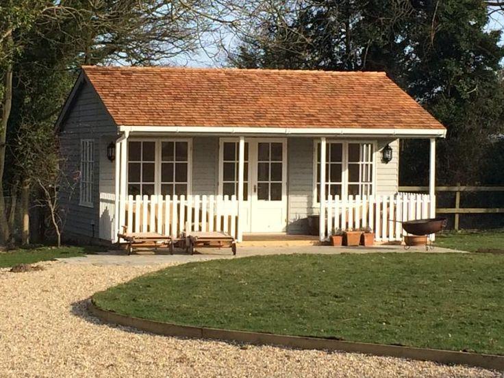 garden room with veranda - Garden Sheds With Veranda