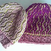 The cutest beanie in brioche stitch | english pattern | knitted hat | knitted beanie | brioche stitch | knitting pattern | two-colour brioche