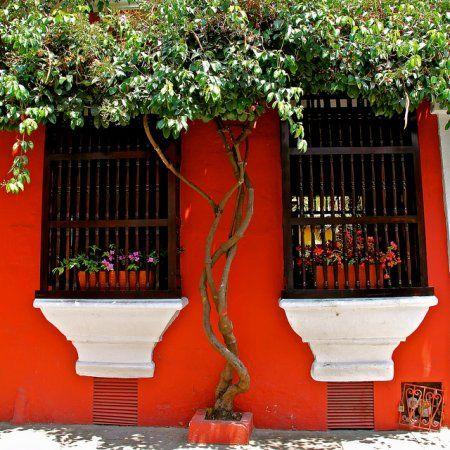 Испанский интерьер - окна