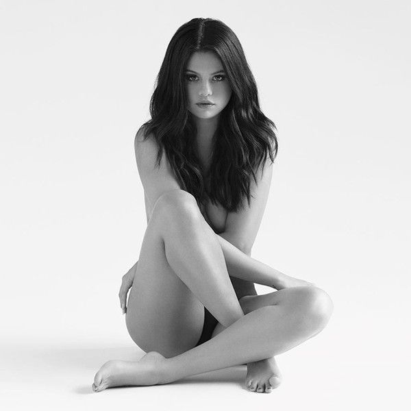 Selena Gomez Strips Down for 'Revival' Album Cover See the Pic ❤ liked on Polyvore featuring celebrities