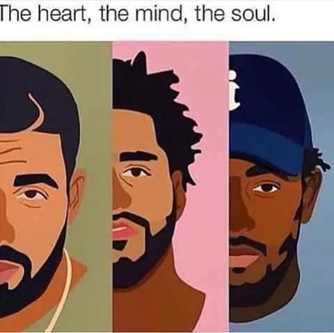 These are three of my favorite current artist in the music industry