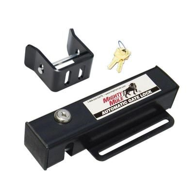 Mighty Mule Automatic Gate Lock for Single and Dual Swing Gate Opener-FM143 - The Home Depot